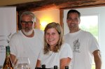 The crew at Long Dog Winery great wines nto at the LCBO