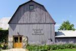 The big purple barn at Closson Chase