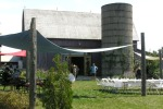 Closson Chase's patio, ideal for al fresco events