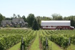 Hillier Creek Winery today, with its beautiful big red barn