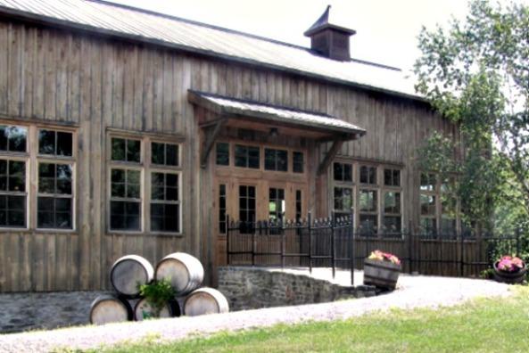 The Grange of Prince Edward patio entrance