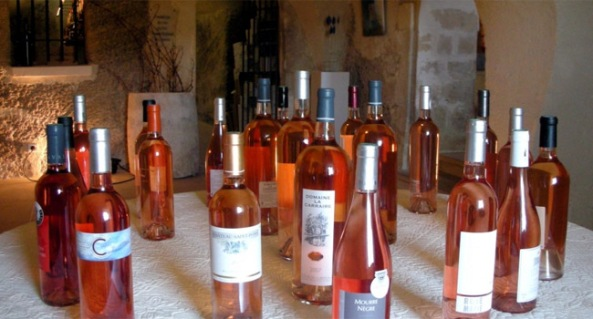rose wines provence