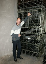 Bruce Ewert with future Prestige Brut in tirage