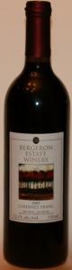 Bergeron Estate  Cabernet Franc 2009