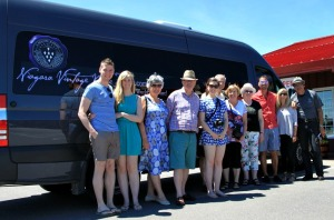 On the road with Niagara Vintage Wine Tours