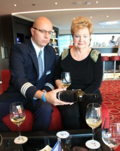 Ship hotel manager Gabriel Antoni-Baca introduces us to Nichta Circum wines