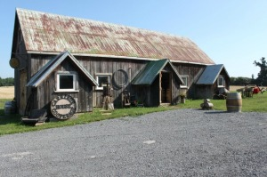 Carriage House Cooperage at 66 Gilead  Distillery