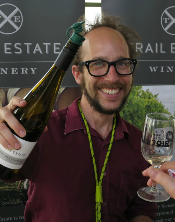 Dan Tweyman winemaker at Trail Winery