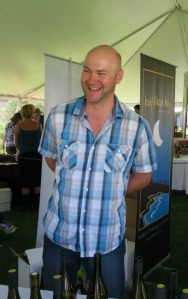 Mike Traynor owner winemaker at Traynor Family Vineyard