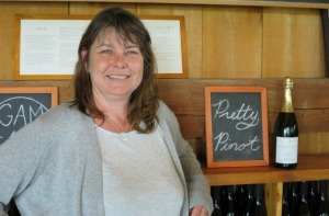 Caroline Granger owner winemaker at Grange of Prince Edward