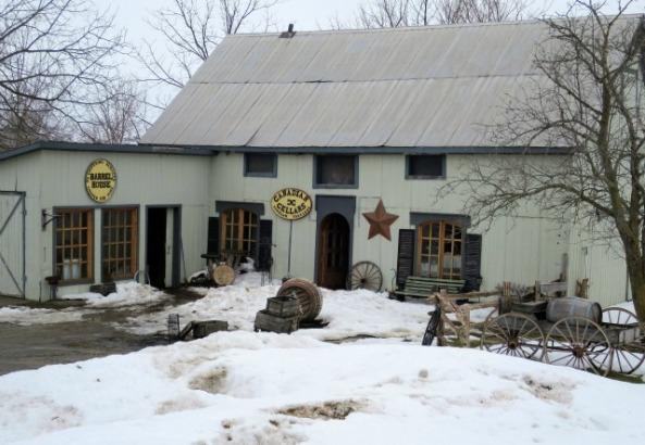 Canadian Cellars  at Black Prince Winery