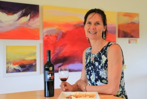 Catherine Langlois, owner winemaker at Sandbanks Estate Winery