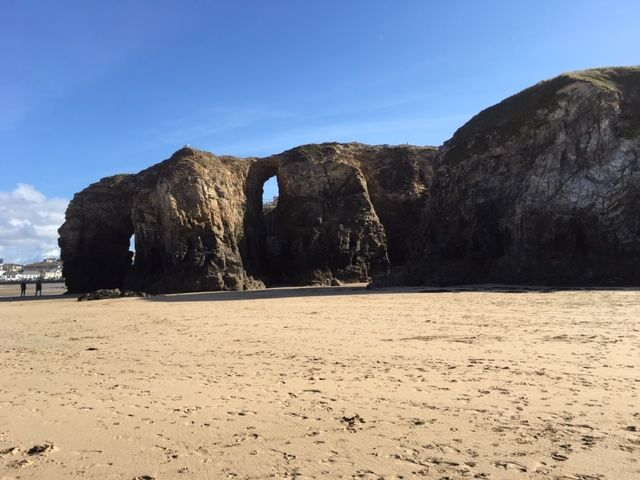 caves and arches perrinporth