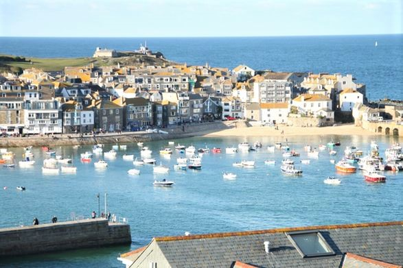 st ives harbour maybe